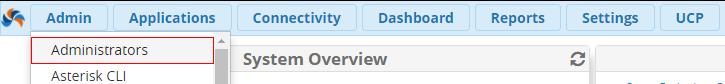 добавить нового пользователя FreePBX 13