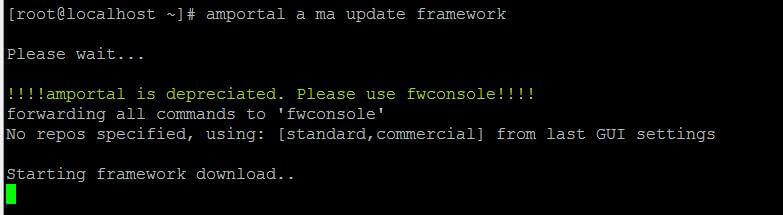 Asterisk обновление модуля через CLI