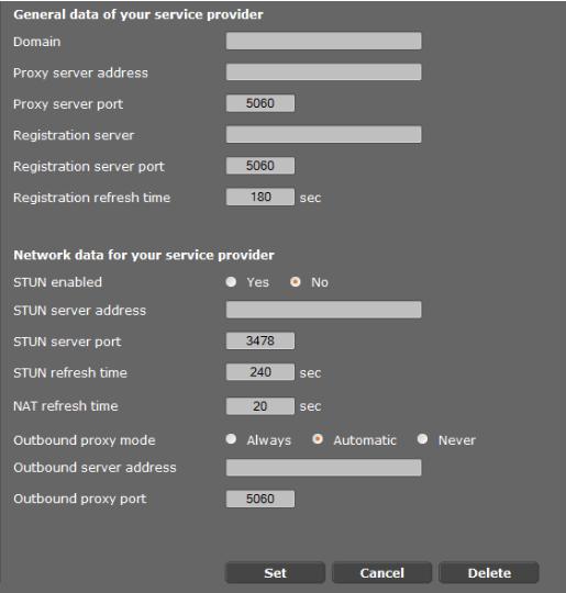 Gigaset N720 DM настройка связи с АТС