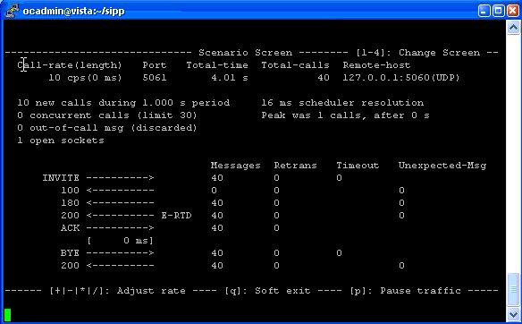 Нагрузочное тестирование VoIP с помощью SIPp