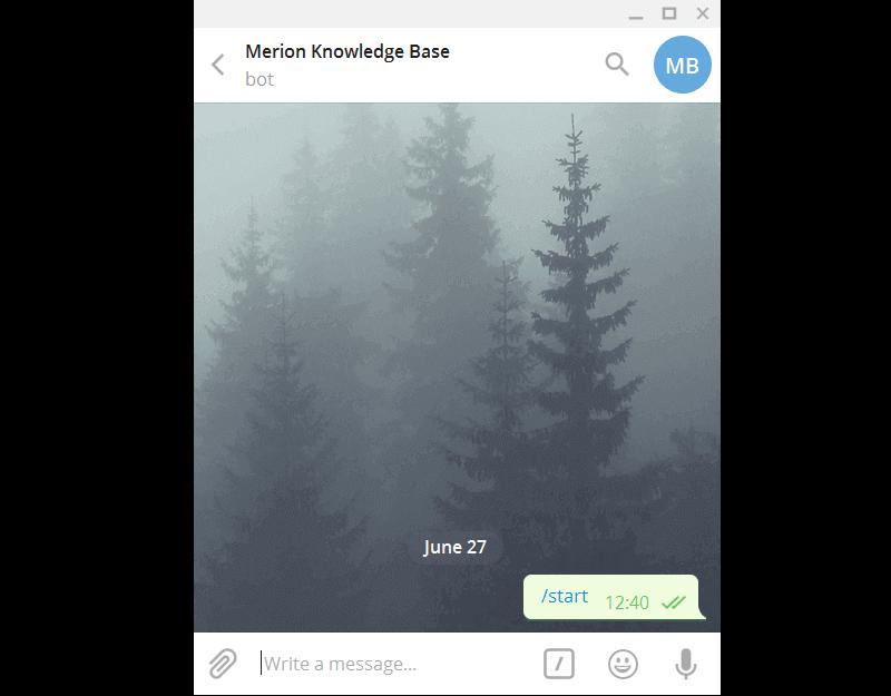 Активация бота в Telegram для Asterisk
