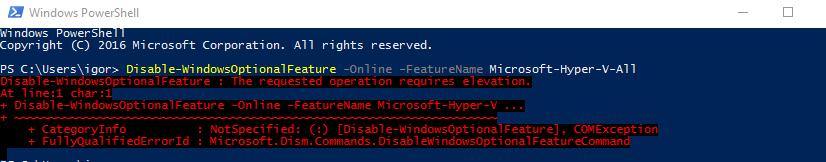 Как включить Hyper-V в Windows