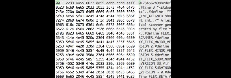 Лучшие HEX – редакторы для Linux