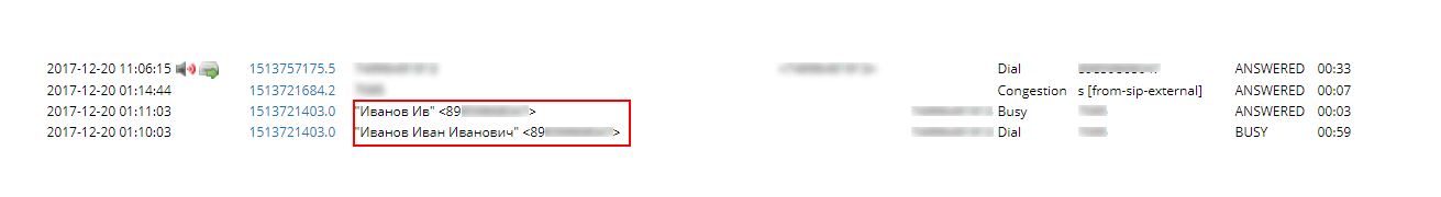 Меняем длину CallerID Name в Asterisk