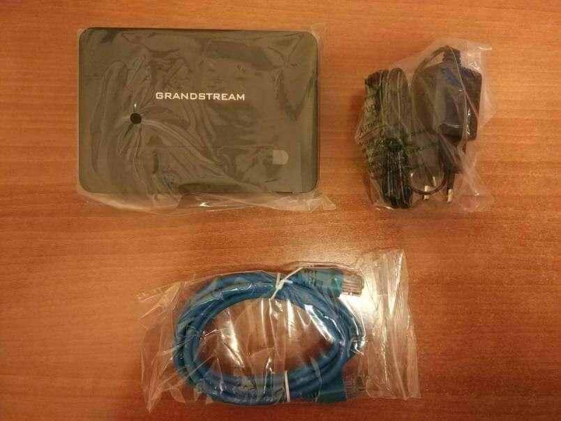 Комплект поставки базы DP750-2