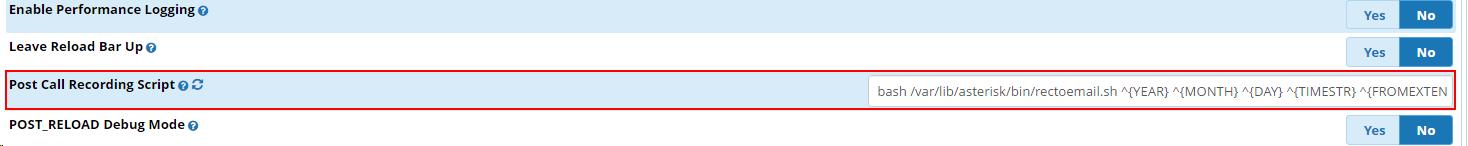 Отправка записи разговора на email в Asterisk