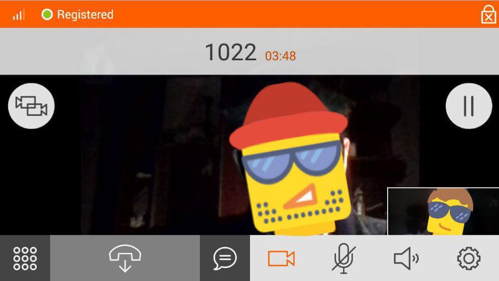 Видео звонок с мобильного через Asterisk