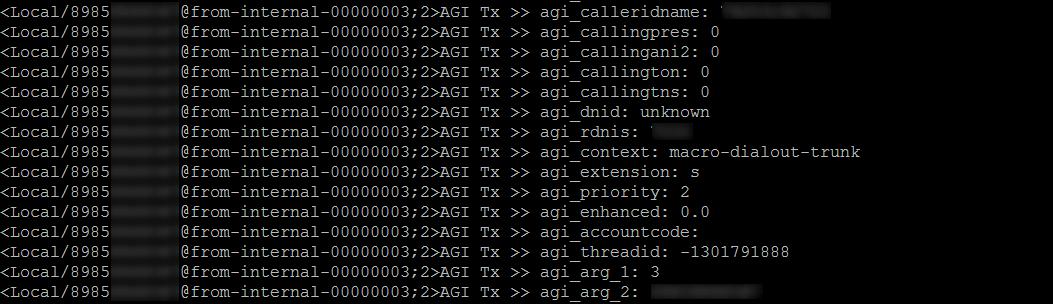 Asterisk Gateway Interface (AGI)