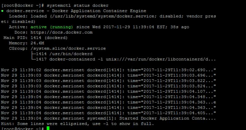 Проверка работоспособности Docker - шаг первый