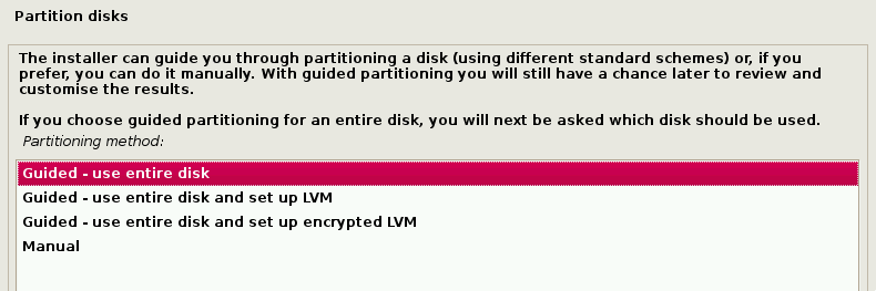 Use Entire Disk