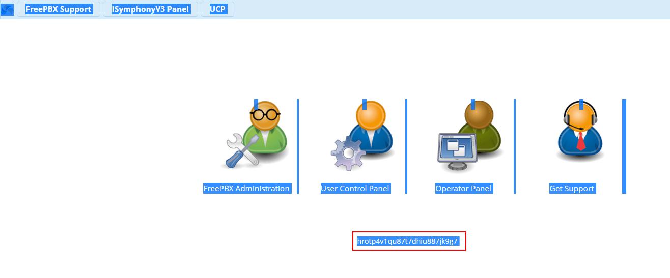 Узнать PHP ID сессии в FreePBX 13