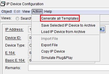 Копирование всех параметров конфигурации телефона в шаблон