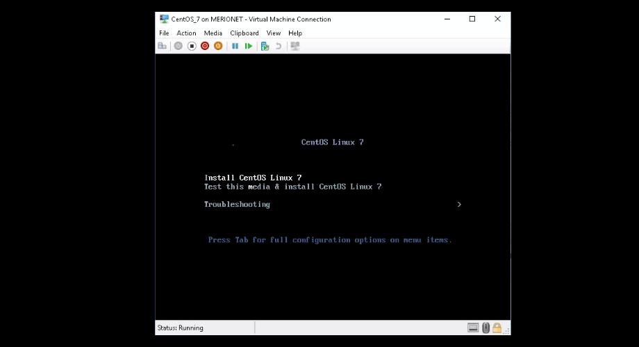 Install CentOS Linux 7