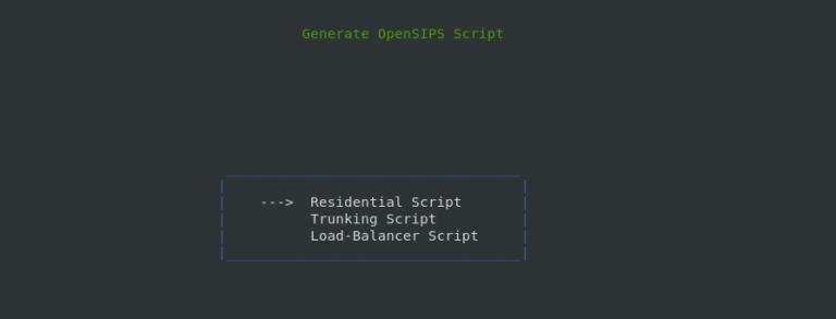 Trunking Script