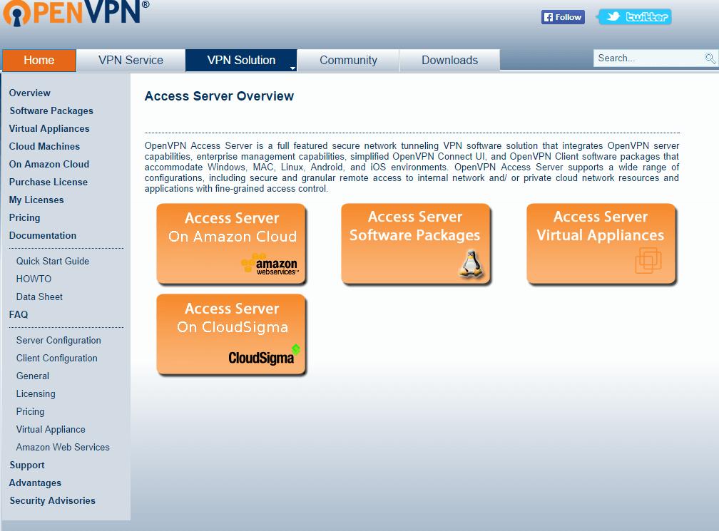 Установка OpenVPN в CentOS