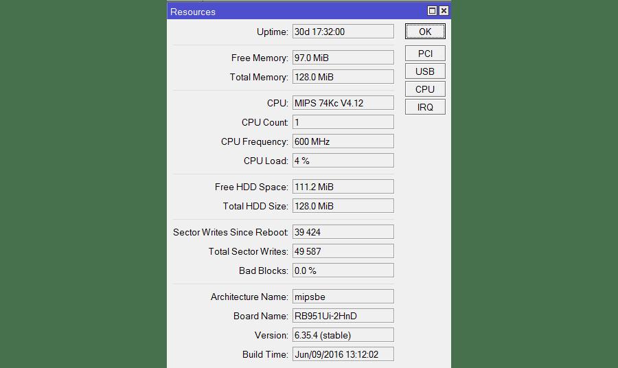 Проблема с загрузкой процессора на Mikrotik решена