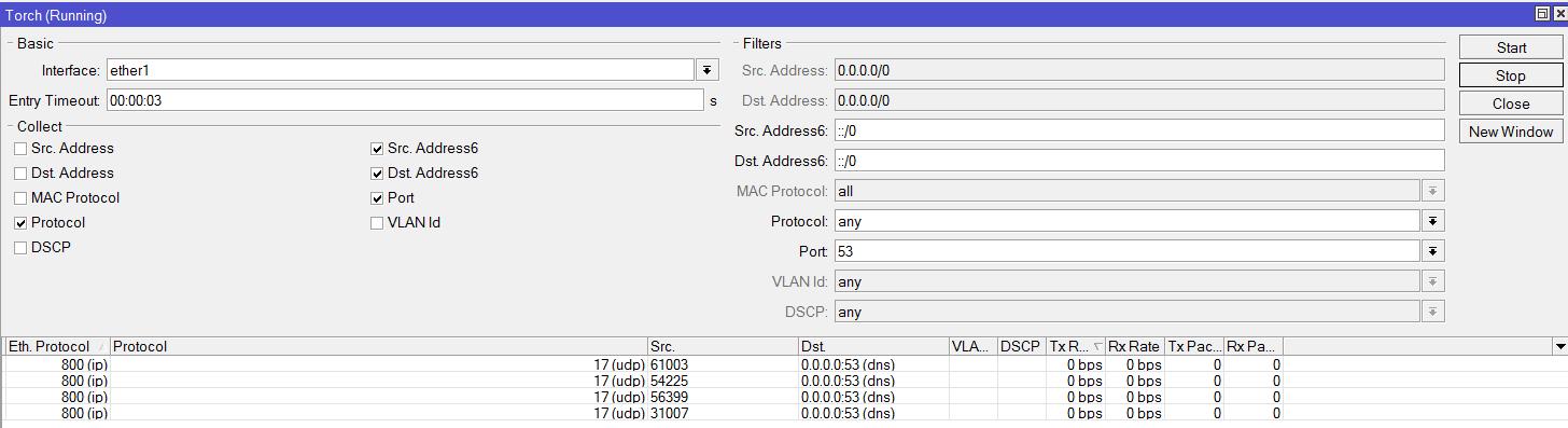 DNS спуфинг в Mikrotik