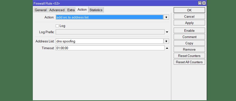 Добавить IP – адреса в список на Mikrotik