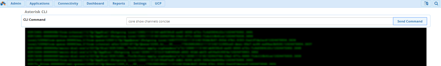 Завершение активного звонка на Asterisk через CLI